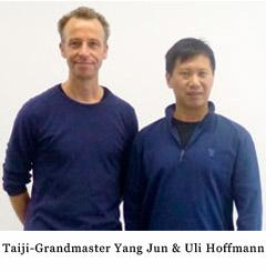 Uli Hoffmann und Meister Yang Jun