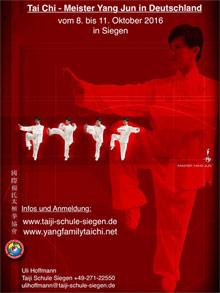 Seminar mit Meister Yang Jun